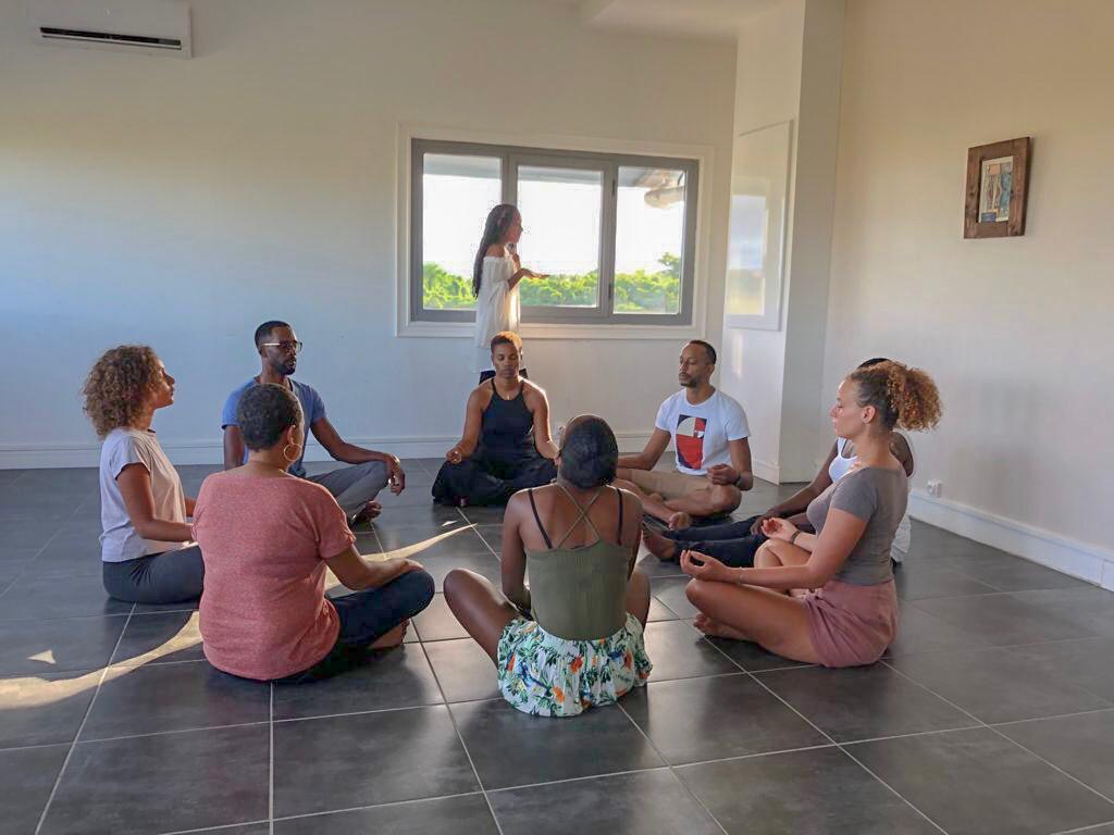Atelier à l'association Nova Art et Découvert en Guadeloupe